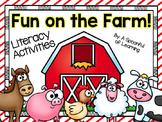 Fun on the Farm! Literacy & Writing Activities!