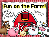 Fun on the Farm! Math, Literacy, & Writing Activities!