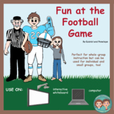 Interactive Book for Speech Therapy:  Football