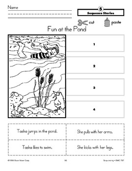 Fun at the Pond (Sequence Stories)