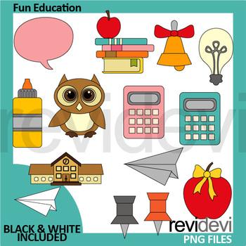 Fun education clip art