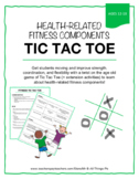Fun fitness challenges with the age old game of Tic Tac Toe!!