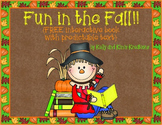 Fun in the Fall! {FREE interactive book with predictable text}