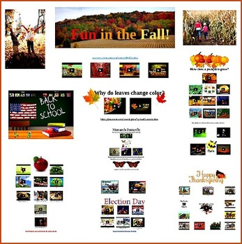 Fun in the Fall Primary Prezi- United States