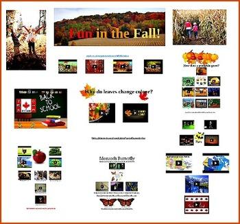 Fun in the Fall Primary Prezi- Canada