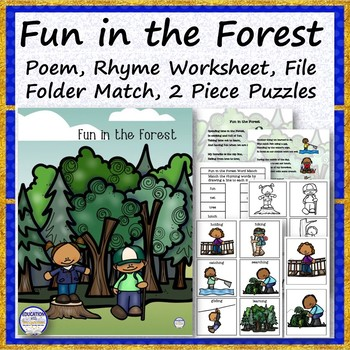 Fun in the Forest Poem Bundle