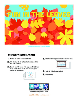Fun in the Leaves (BOOK by Michel Dufresne Level B/2)