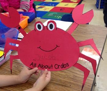 Fun in the Ocean! Literacy & Writing Activities!