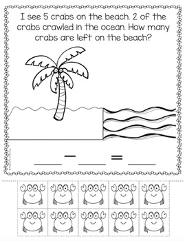 Fun in the Ocean! Math Activities!