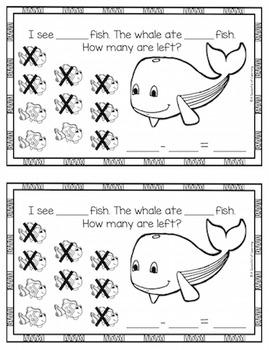 Fun in the Ocean! Math Activities!