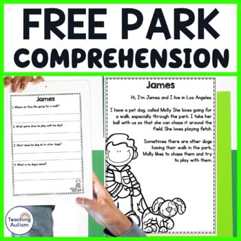 Fun in the Park Comprehension