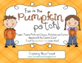 Fun in the Pumpkin Patch! {Math & Literacy Activities alig