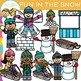 Fun in the Snow Winter Clip Art