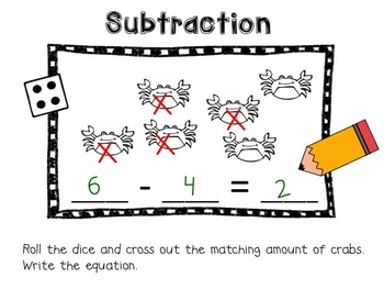 Fun in the Sun! {Addition and Subtraction Practice}