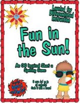 Fun in the Sun! - An Orton-Gillingham Inspired Short u Board Game