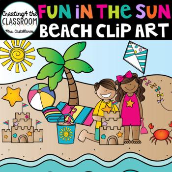 Fun in the Sun {Beach Clip Art}
