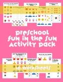 Beach Preschool Summer Packet