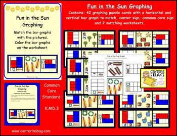 Fun in the Sun Graphing (K.MD.3)