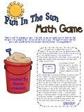 Fun in the Sun Math Game