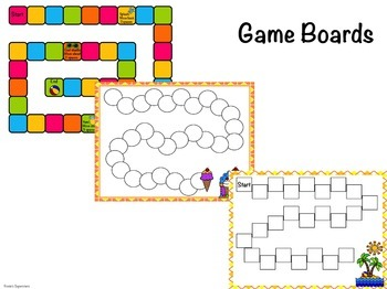 Summer Multiplication Games and Worksheets