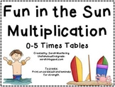 Fun in the Sun Multiplication (Times Tables 1-5)