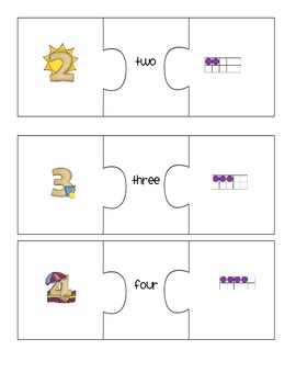 Fun in the Sun Number Sense Puzzles
