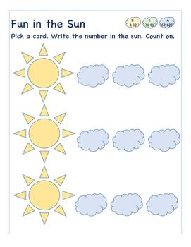 Fun in the Sun- Numbers 1-120