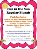 Fun in the Sun Regular Plurals Pack
