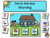 Fun in the Sun Rhyming | Literacy | Game