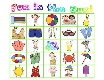 Fun in the Sun! {Summer Bingo}