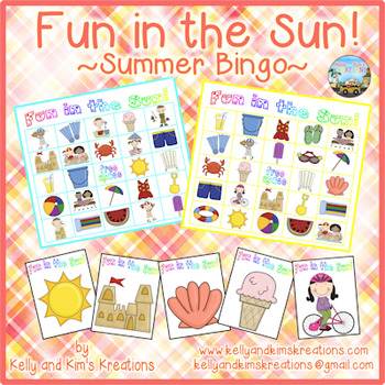 Fun in the Sun! {Summer Bingo}
