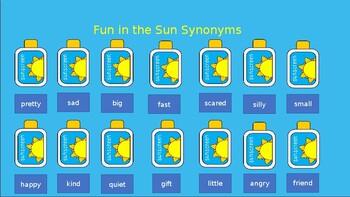 Fun in the Sun Synonyms