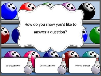 Back to school fun interactive quiz – editable
