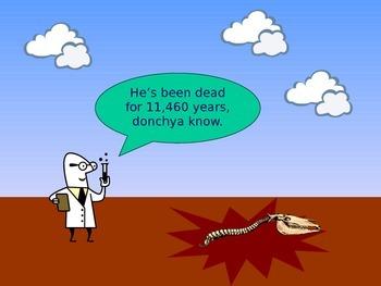 Fun introduction to radioactive carbon dating