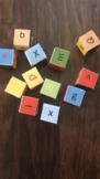 Fun letter dice activities 字母骰子游戏活动