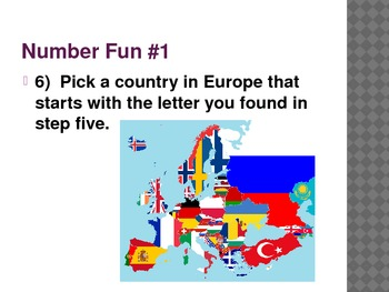 Fun math Activities (18 Slides)