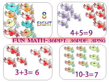 Addition And Subtraction Fun Math Birds End Of The Year Activities