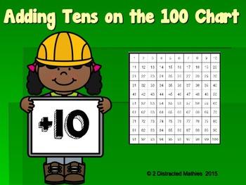 Fun on the 100 Chart---Adding Tens