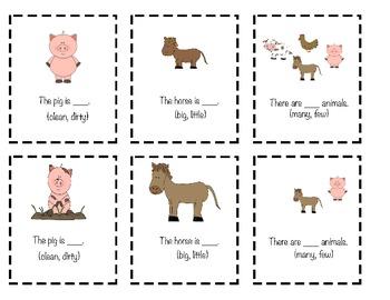 Fun on the Farm- Basic Concepts (L.K.1e)