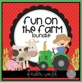 Fun on the Farm Classroom Decor  Bundle with EDITABLE features