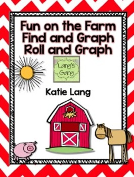 Fun on the Farm Find and Graph-Roll and Graph