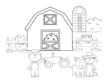 Fun on the Farm Language Pack (L.K.1e, L.K.1d, L.1.5b)