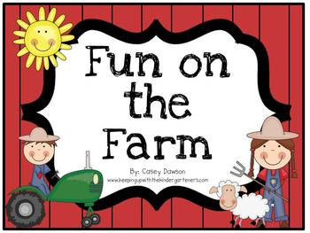 Fun on the Farm (Literacy and Math Activities)