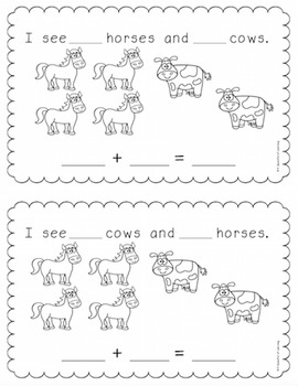 Fun on the Farm! Math Activities!
