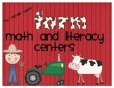 Fun on the Farm: Math and Literacy Centers