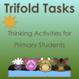 TriFold Thinking Activities: Fun on the Farm