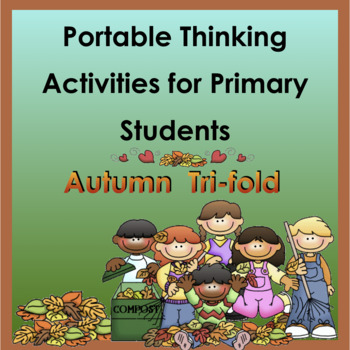 Autumn TriFold Activity Sheet