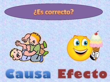 Fun quick activity Causa y efecto