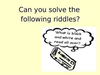 Fun riddles!!