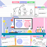 Fun science experiment worksheet - Baking soda and Vinegar